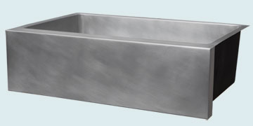 Custom Zinc Farmhouse Sinks # 5189