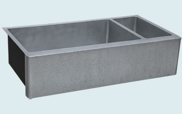 Custom Zinc Farmhouse Sinks # 5353