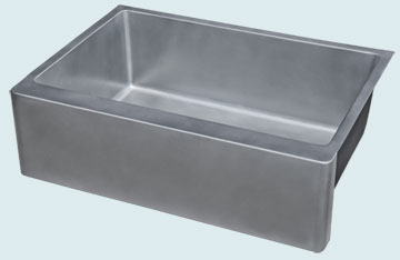 Custom Zinc Farmhouse Sinks # 5354