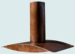 Copper Range Hood Wings