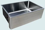 Stainless Steel Custom Farmhouse Sinks