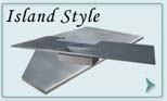 Stainless Steel  Countertops Island