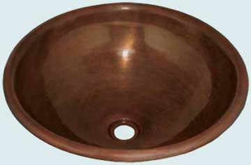 Copper Bath Sinks # 1987