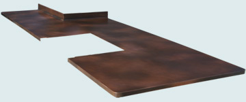 Copper Countertop # 3324