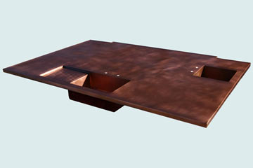 Copper Countertop # 3928