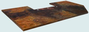Copper Countertop # 3987