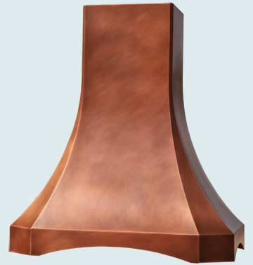 Copper Range Hood # 2419