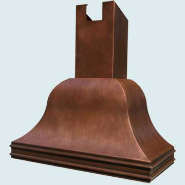 Copper Range Hood # 2770