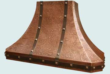 Copper Range Hood # 2775