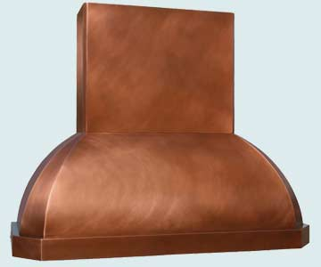 Copper Range Hood # 3015