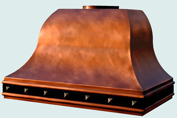 Copper Range Hood # 3099