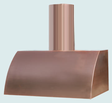 Copper Range Hood # 3119