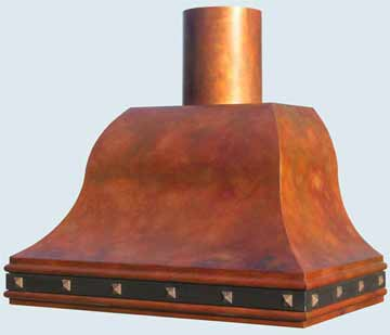 Copper Range Hood # 3136
