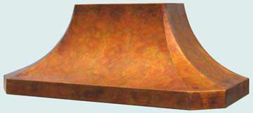 Copper Range Hood # 3218