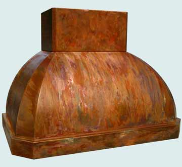Copper Range Hood # 3815