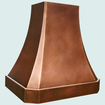 Copper Range Hood # 3816