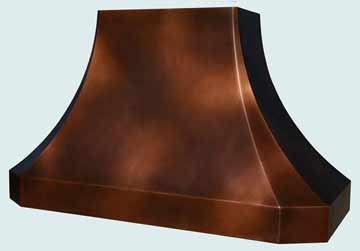 Copper Range Hood # 3875