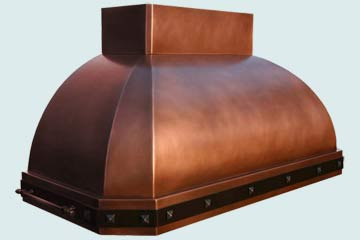 Copper Range Hood # 3950