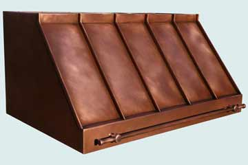 Copper Range Hood # 3986