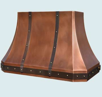Copper Range Hood # 4273