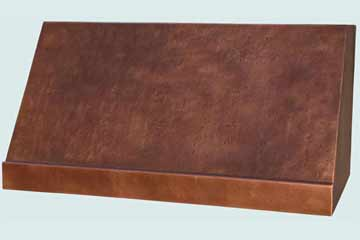 Copper Range Hood # 4307