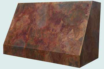 Copper Range Hood # 4383