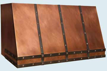 Copper Range Hood # 4426
