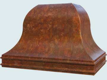 Copper Range Hood # 4603