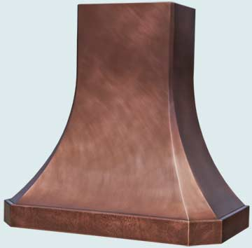 Copper Range Hood # 4734