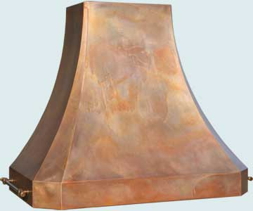 Copper Range Hood # 4745