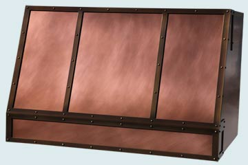 Copper Range Hood # 4841