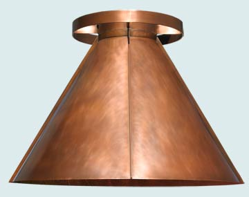 Copper Range Hood # 5142