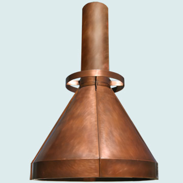 Copper Range Hood # 5143