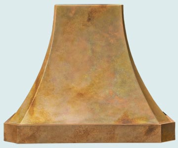 Copper Range Hood # 5312
