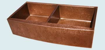 Copper Extra Large Sinks # 3018