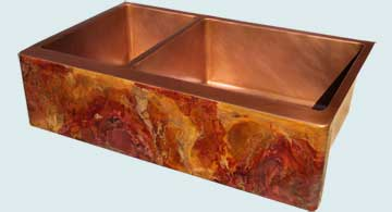 Copper Sinks Old World Patina # 4193