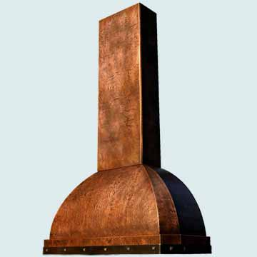 Copper Range Hood # 2575