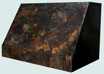 Copper Range Hood # 2564