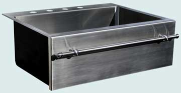 Stainless Steel Towel Bar sinks # 3720