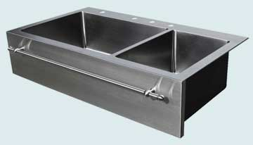 Stainless Steel Towel Bar sinks # 3732
