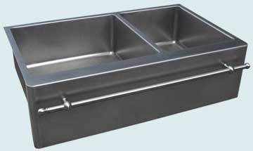 Stainless Steel Towel Bar sinks # 3749