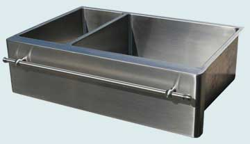 Stainless Steel Towel Bar sinks # 3754