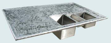 Stainless Steel Countertop # 4773