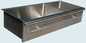 Stainless Steel Towel Bar sinks # 4590