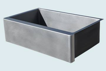 Custom Stainless Steel Farmhouse Sinks # 4778